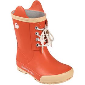 DIDRIKSONS Splashman Rubber Boots Kids tile orange